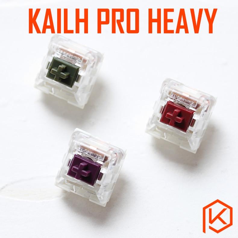 NovelKeys X Kailh Pro Heavys Pro Switch RGB SMD Purple Light Green Teal Aqua Burgundy MX RGB Swithes For Backlit Keyboard