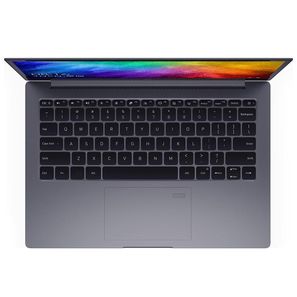 Xiao mi portátil portátil portátil ar 13.3 Polegada inglês win10 mx250 duplo dedicado cartão intel i5/i7 8 gb ram 256 gb ssd com impressão digital - 4