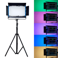 140W RGB Dimmable Yidoblo A 2200C 4 Colors Pro LED Lamp Video Film LED Soft Light Panel with LCD Screen Phone App Remote Control