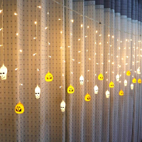 LED Skull pumpkin Strip Light Holiday Lighting for Festival Halloween Decoration String Lamp Nightlights