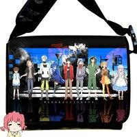 Game Cosplay TouHou Project Students Shoulder Cross Body Bag Mekaku City Actors Satchel Schoolbag 42 Styles