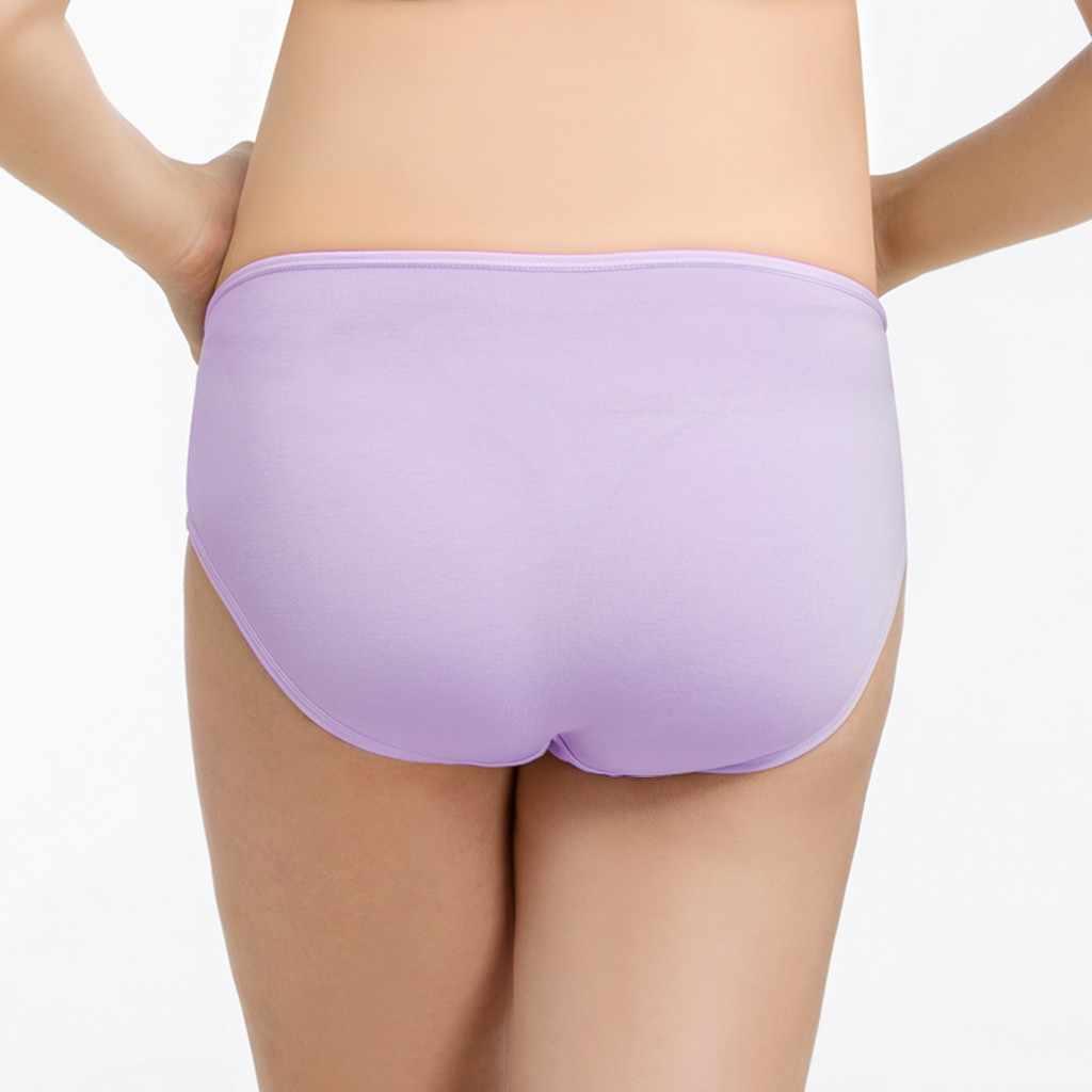 4715abd8a4cd1 ... Intimate Portal Women Underwear The Bump Maternity Panties Pregnancy  Underwear Pure Color Super Soft Briefs Women ...