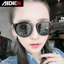 vintage cat eye glasses round polarised sunglasses for women