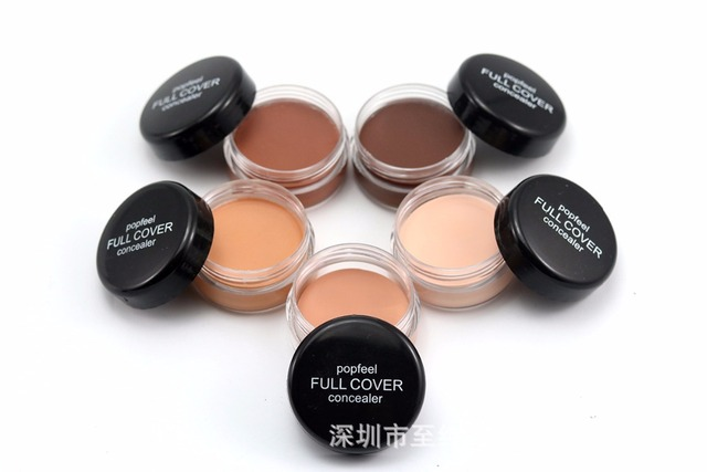 Base Concealer Cream Face Cover Blemish Hide Dark Spot Blemish Eye Lip Contour Makeup Liquid Foundation Cosmetic Concealer Cream 5
