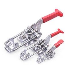 1 sztuk ocynkowane żelazko regulowane zamknięcia dociągające Pull zabezpieczanie klip zapięcie do szybkiego montażu domu narzędzie klamra montaż zamknięcia dociągające