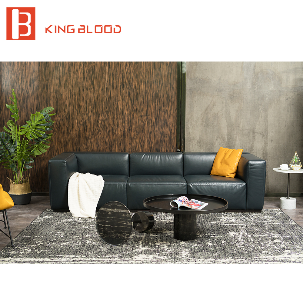 latest italy modern furniture home living room nappa leather sofa set цены онлайн