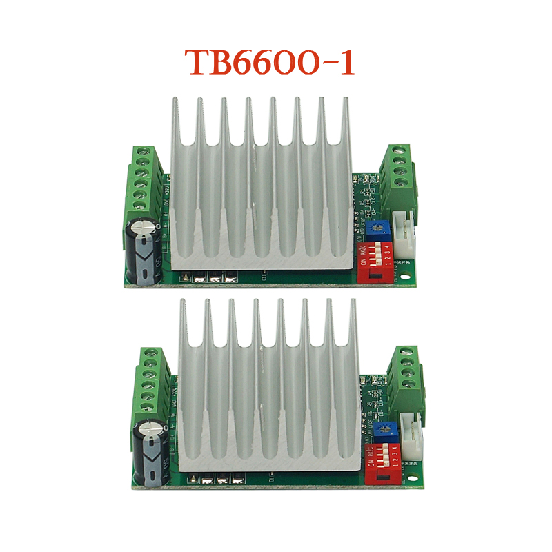 CNC Stepper 2pcs Motor Driver Kit 4.5A TB6600-1 Stepper Motor Driver Board For CNC Router Engraving Machine