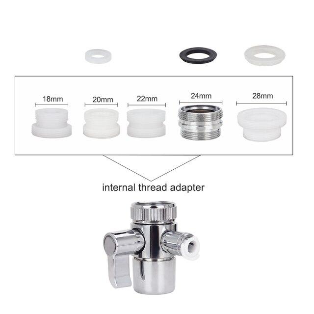 6 porady rodzina przełącznik kran Oral Jet irygator ciśnienie woda nić dentystyczna SPA Cleaner szczoteczka międzyzębowa codzienne czyszczenia zębów