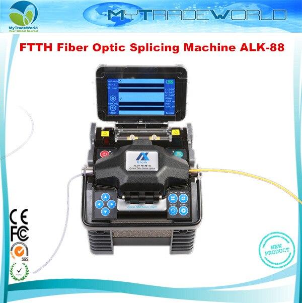 2019 drei Jahr Garantie ALK-88 Fusionadora de Fibra Optica Optical Fiber Fusion Splicer Fiber Optic Fusion Spleißen Maschine