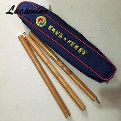 Professional China Health Qigong Association Taiji yang sheng zhang High quality Rosewood/carbonized bamboo Tai Chi sticks 120cm