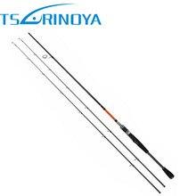 Trulinoya 2 Consejos (M y ML) Spinning caña de Pescar 2.1 m/2.4 m Señuelo Peso: 4-12g/5-20g 2 Secciones Carbono Varillas Bass Pesca Palo Tackle