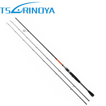 Trulinoya 2Tips(M / ML) Fast Spinning Fishing Rod 2.1m/2.4m Lure Wt:M: 7-20g/ML:5-15g 2Secs Carbon Rods Bass Pesca Stick Tackle