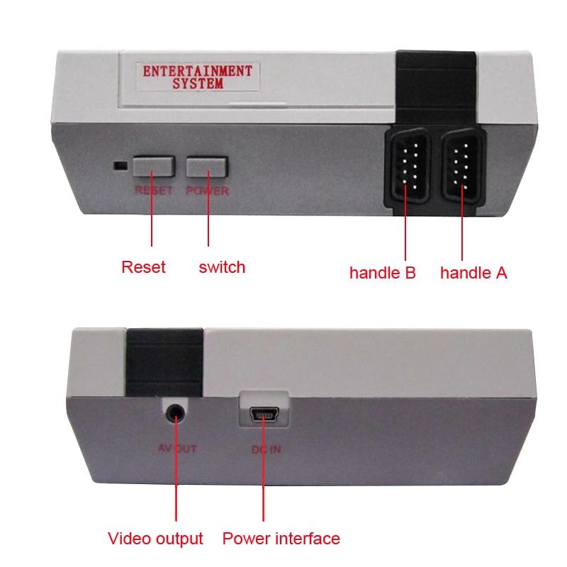 Coolbaby Retro Family Game Mini Consola Con 500 Juegos Clasicos