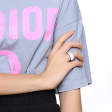 Chunky Stainless Steel Ring for Women