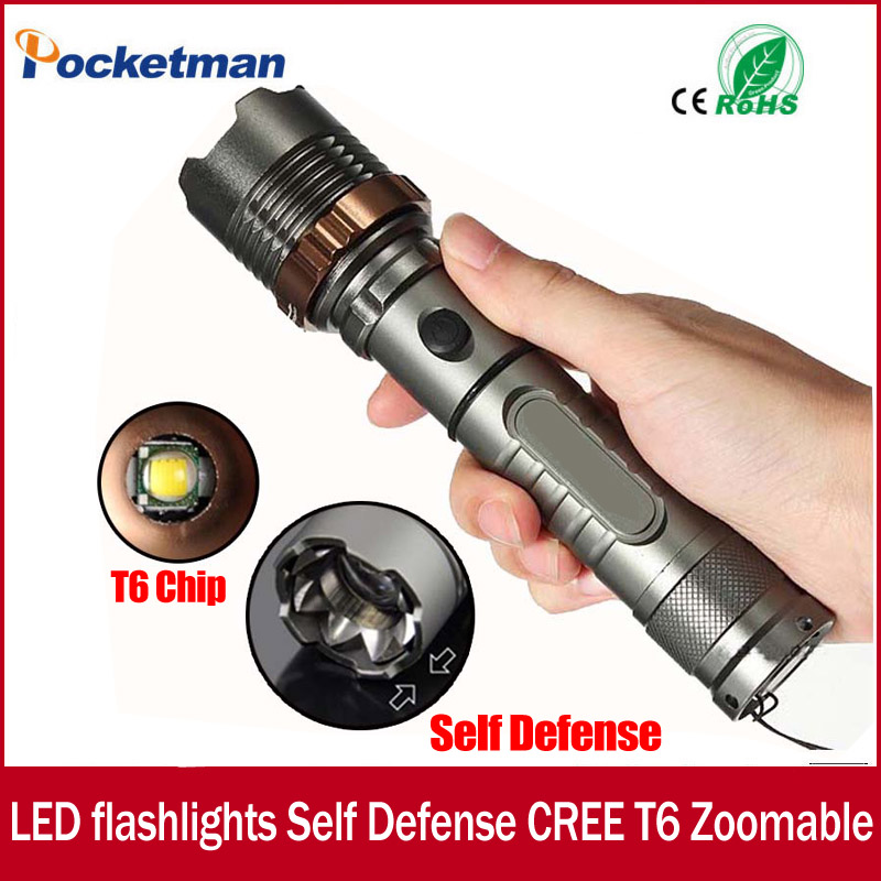 3800lm XM-L T6 5modes LED Tactical Flashlight Torch Waterproof Hunting Flash Light Lantern zaklamp taschenlampe torcia zk93 cazenoveyi