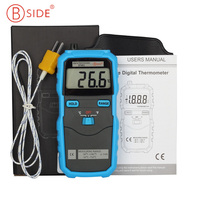 Bside BTM01 K Type Thermocouple Probe LCD Display Digital Thermometer C F Switch High Precision Temperature