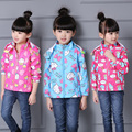2016 Spring&Autumn New,Free Shipping  character kids jackets coats, girls outerwear,Children's clothes, cat&rabbit coat