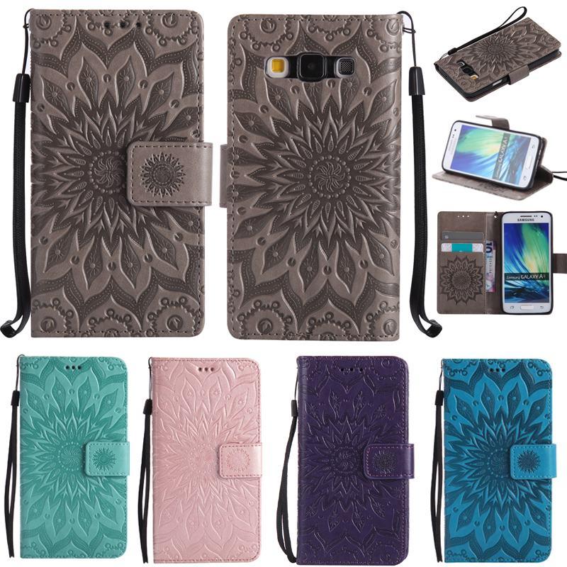 Galleria fotografica For Samsung Galaxy A3 Wallet Case + Silicone Cover Samsung Galaxy A3 2015 Phone Case For capas samsung galaxy A3 case leather