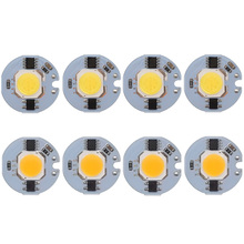 30PCS/LOT COB LED Chip 3W 5W 7W 9W Bulb Lamp 220V IP65 Smart IC Driver Cold/ Warm White light beads for diy Spotlight Floodlight 10pcs lot led lamp 220v cob chip overvoltage protection smart ic no driver 50w light beads for diy spotlight downlight
