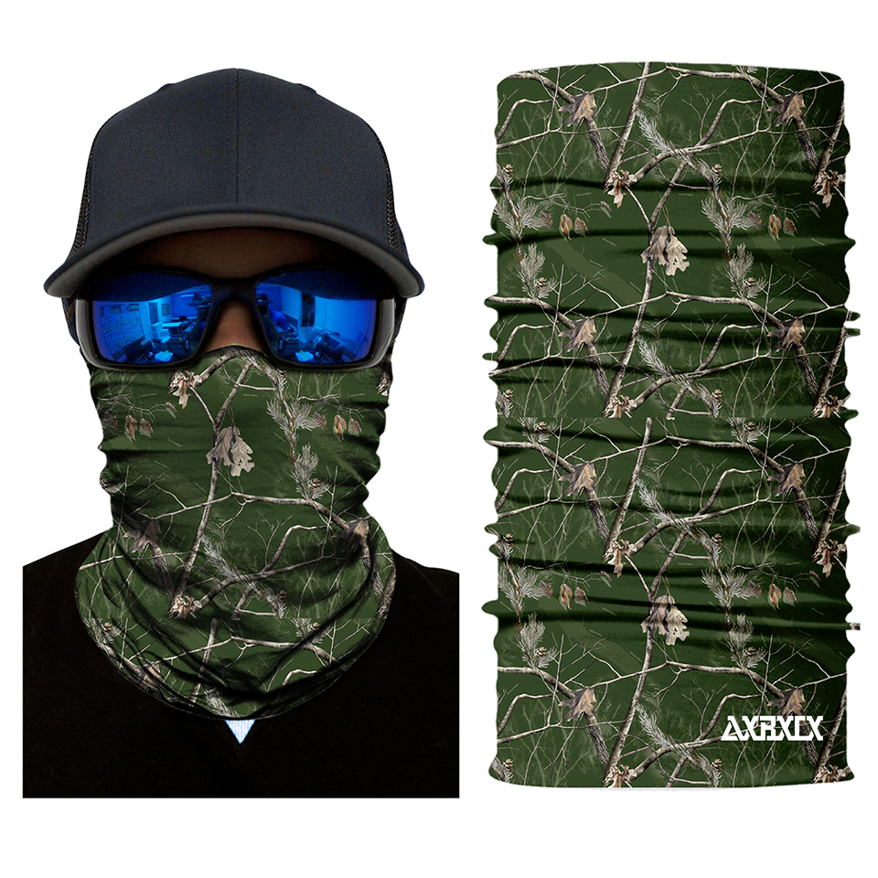 Ostrich Pattern Microfiber Neck Warmer Balaclavas Soft Fleece Headwear Face Scarf Mask For Winter