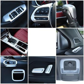 Steering Wheel Automobile Modified Decorative Car Styling Sticker Strip Protecter Accessories 18 19 FOR Morris Garages MG RX5