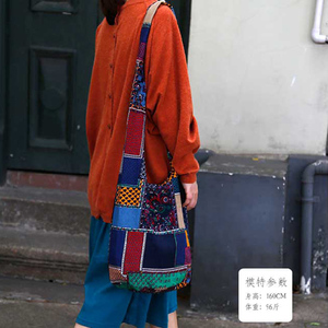 Image 2 - היפי בציר Hippie בוהמי תיק נשים כתף Crossbody שקיות כותנה נשים של תיקי ספר ספרי נסיעות דלי תיק