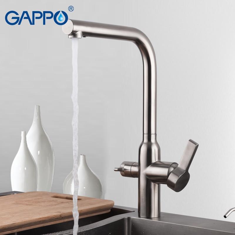 GAPPO misturador de água da Torneira Da Cozinha pia da cozinha torneiras Torneiras sink mixer torneiras cachoeira torneira