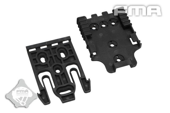 Prix pour FMA Noir Rapide Système De Verrouillage Kit arrière-pièce combinaison qui permet BK/DE TB1042