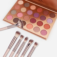 New Arrival 24-Colors Eyeshadow Palette + 12Pcs Eye Makeup Brushes Make