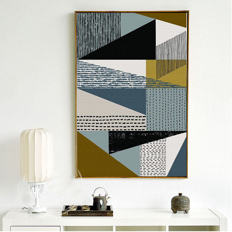 HTB1yDYiSVzqK1RjSZFvq6AB7VXaZ Abstract Geometric Scandinavian Canvas Paintings Nordic Posters Prints Gallery Wall Art Pictures for Living Room Home Decoration