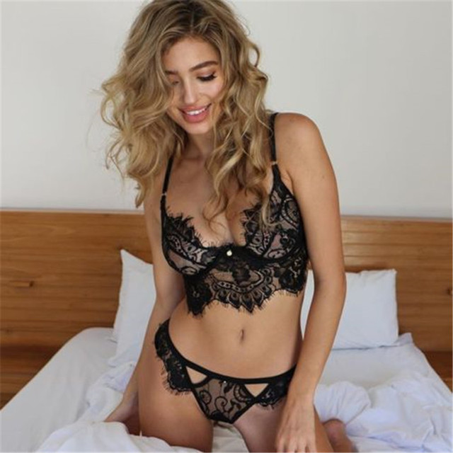 That sexy women in see through lingerie not that