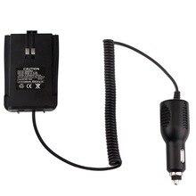 Walkie Talkie Accessories Black Car Charger Battery Eliminator 12V-24V For Retevis RT21 Two Way Radio J9118J