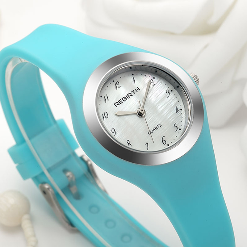 Top Sell Women Quartz Watches Creative New Jelly Gifts Wristwatches Silicone Band Sport Digital Dial Relogio Feminino Minimalist