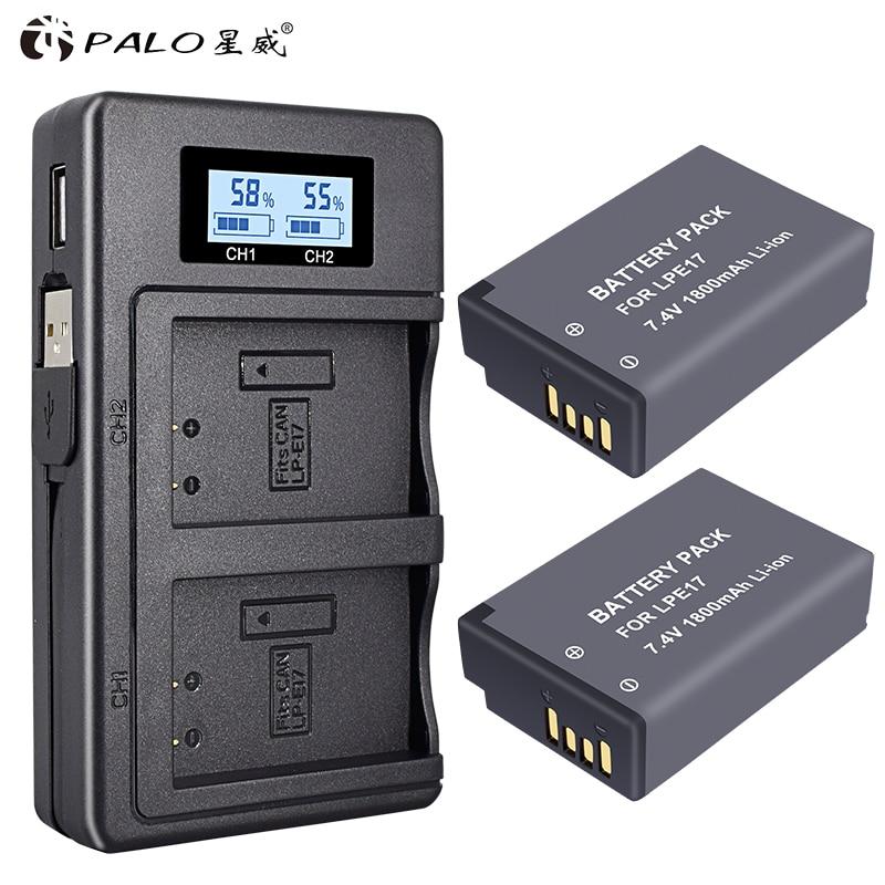 Stromquelle Batterie Lp-e17 Lpe17 Lp E17 Kamera Batterie Für Canon Eos M3 M5 M6 750d 760d T6i T6s 800d 8000d Kuss X8i