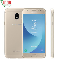 Original Samsung Galaxy J3 2017 J3300 Unlocked 5 0 LTE Dual SIM 13 0MP Snapdragon Quad
