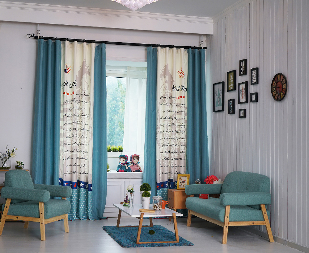 Patterned Curtains For Living Room Popular Star Pattern Curtains Buy Cheap Star Pattern Curtains Lots