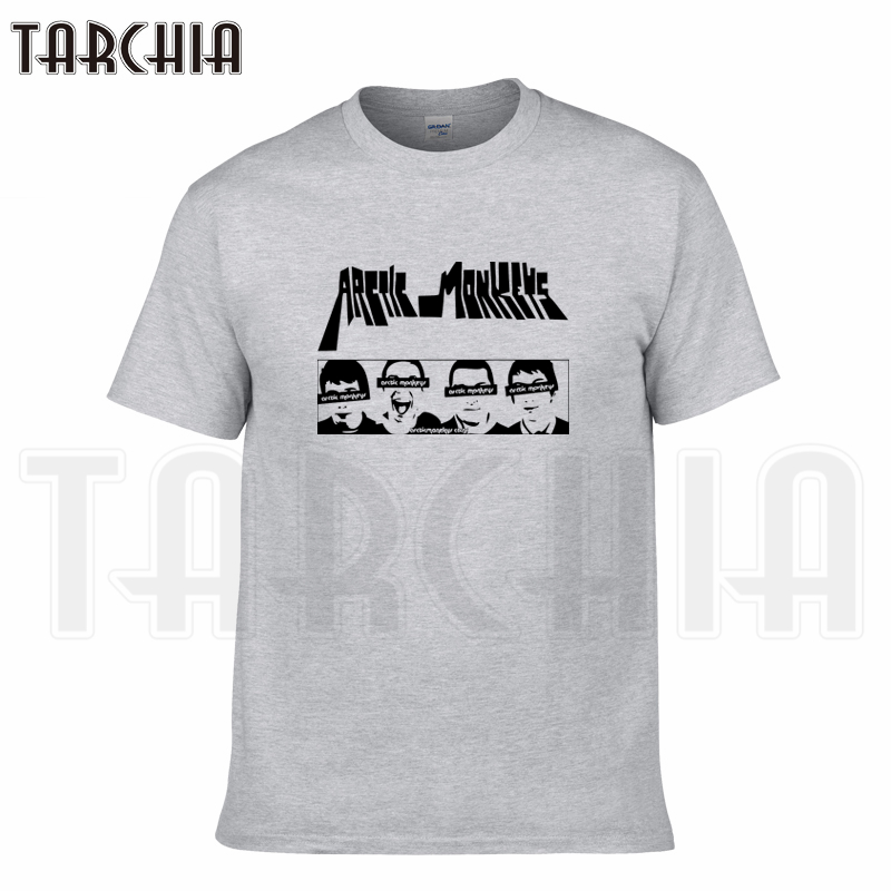 TARCHIA 2018 summer brand Arctic Monkeys t-shirt cotton tops tees men short sleeve boy casual homme tshirt t shirt plus fashion