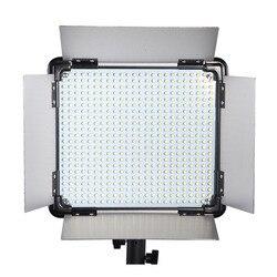 DHL Free 3 pcs Brand Dison Remote Control LED Lamp E-528II Continue Lighting video light Studio Photography led video Lighting