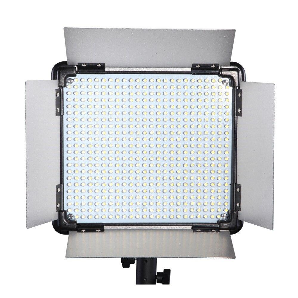 DHL gratis 3 piezas marca Dison Control remoto LED lámpara E-528II continuar iluminación de luz de vídeo fotografía de estudio led iluminación