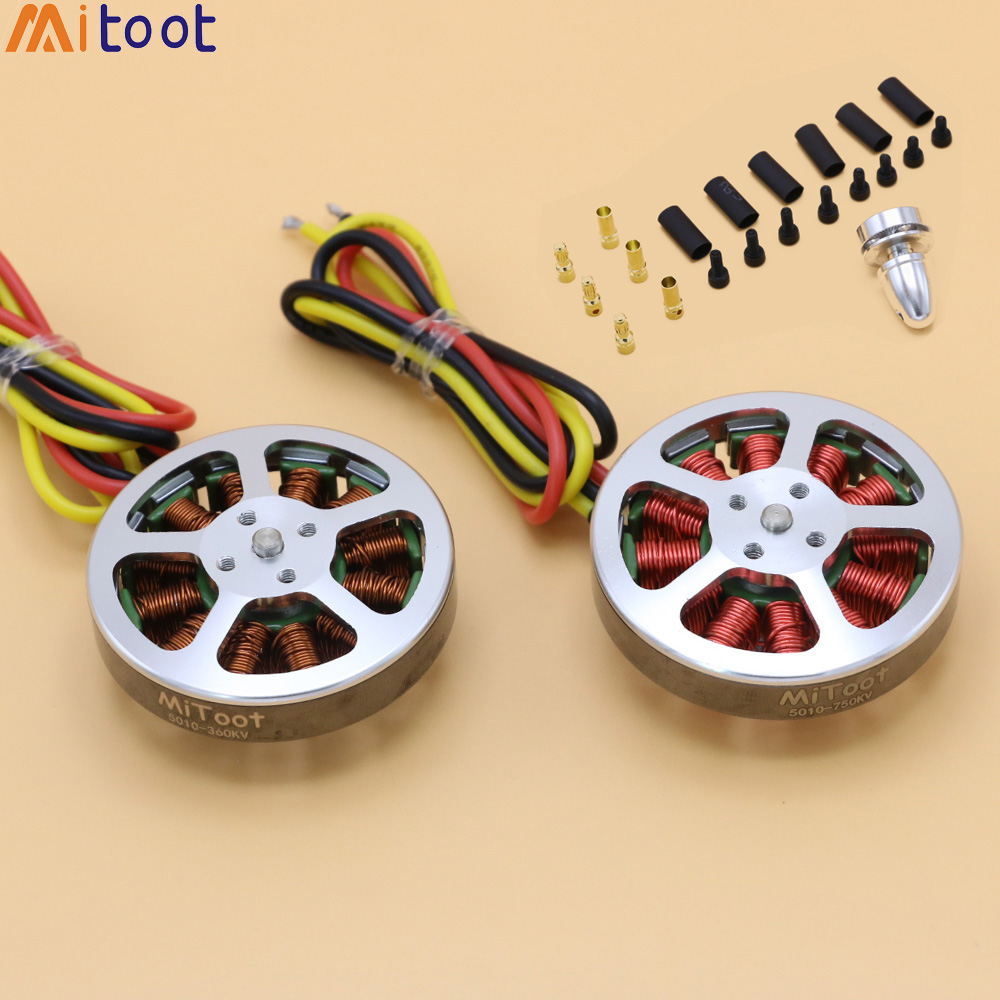 Mitoot 5010 360KV / 750KV High Torque Brushless Motors For Rc MultiCopter / QuadCopter / Multi-axis Aircraft