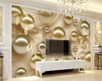 Beibehang пользовательские обои ТВ диван гостиной спальня росписи трехмерная мяч украшение дома фоне стены 3d обои