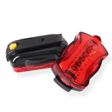 Red Flashing Warning Light Night Outdoor Dark Place Shoulder Clip Type Strobe Traffic Road LED Safety Warning Light Alarm Lamp(China)