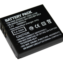 Батарея пакет для цифрового фотоаппарата Panasonic Lumix DMC-FX8, DMC-FX9, DMC-FX10, DMC-FX12, DMC-FX50, DMC-FX100, DMC-FX150, DMC-FX180 цифровой Камера