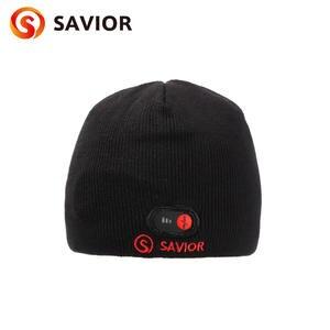 f92d46e518e Savior heated hat winter heating caps outdoor biking old people working  safety health heat head keep warming women