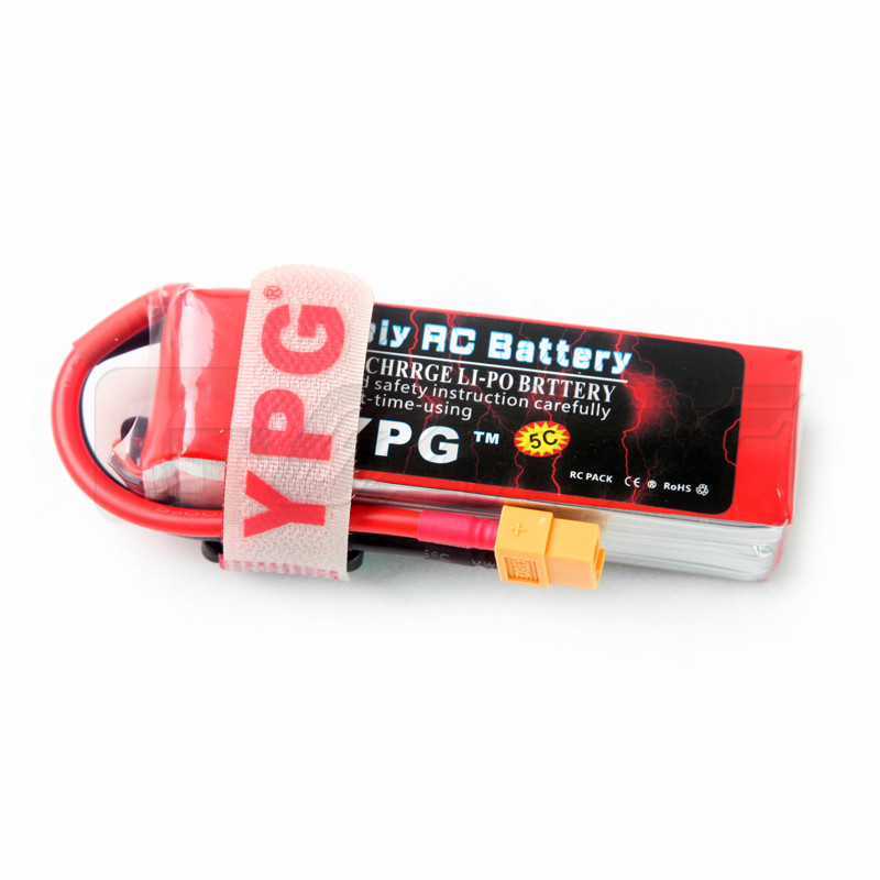 YPG 11.1V 2200mAH 30C 3S battery Lipo Li-Po Lipoly(Support 5 C charge) Battery For RC Trex Helicopter & Airplane & Car