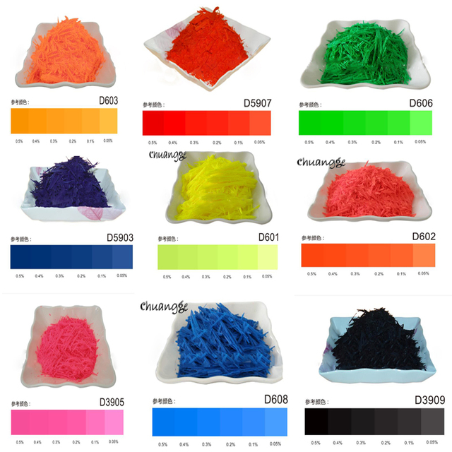 CHUANGGE 300g Candle Dye Coloring Paints Pink Green Fluorescent ...