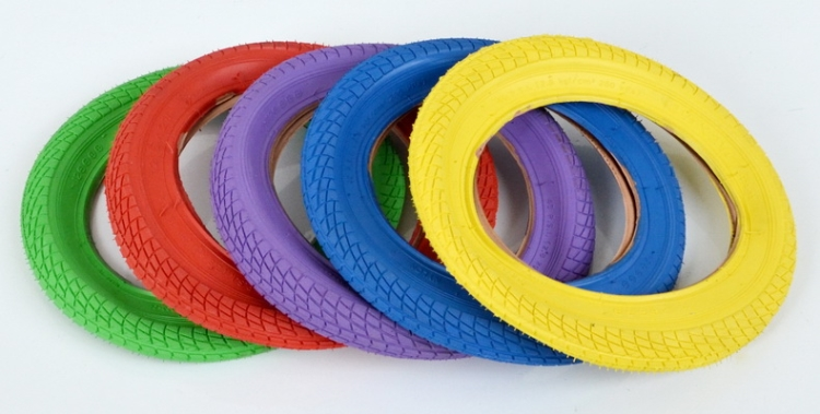 Cycling Colorful Tires 12 2 125 12 1 2 X 2 1 4 Bicycle Parts Electric Bike Bicycle Tyre 12 inch Color Tire in Bicycle Tires from Sports Entertainment