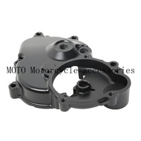 Aluminum Motorcycle Engine Crankcase Starter Cover With Gasket For Kawasaki Ninja ZX6R ZX 6R ZX600 2009