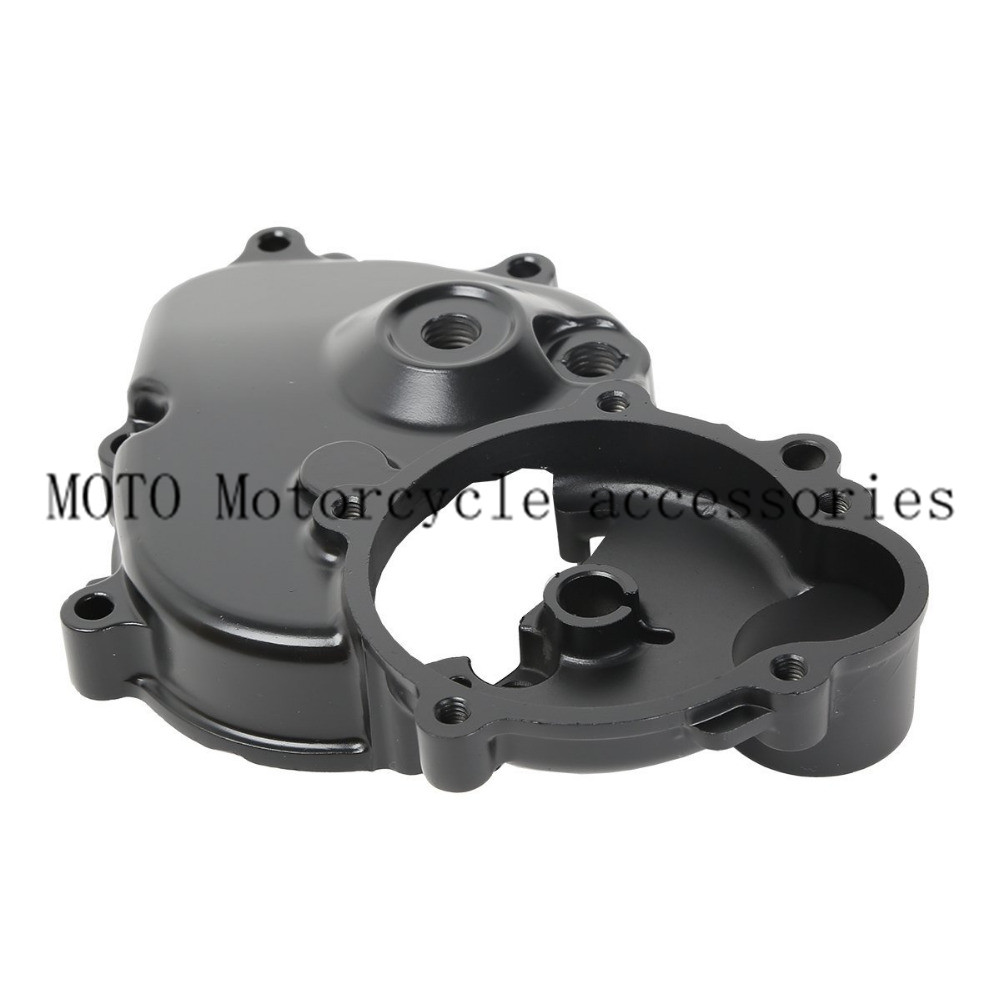 Aluminum Motorcycle Engine Crankcase Starter Cover with Gasket For Kawasaki Ninja ZX6R ZX-6R ZX600 2009-2011 2010 2008 09 10 11 aluminum water cool flange fits 26 29cc qj zenoah rcmk cy gas engine for rc boat