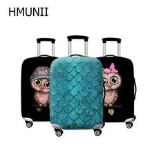 HMUNII бренд For19-32 дюймов женский чемодан защита от пыли Чехлы для путешествий необходимости эластичный плотный защитный чехол на чемодан
